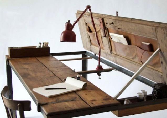 писалище от старата врата