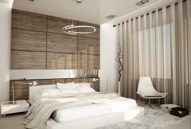 еднакви стени и таван - оптически увеличават стаята