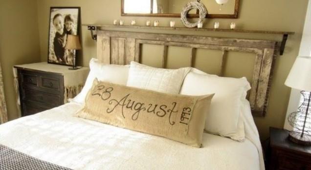 табла за спалнята от врата