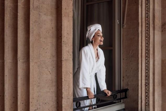Анджелина Джоли в Париж