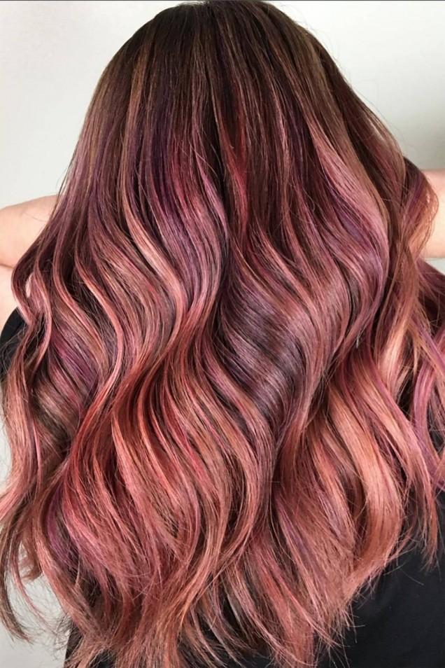 червена коса 2019