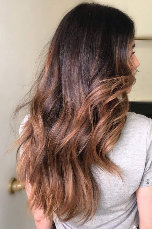 етажиране на косата