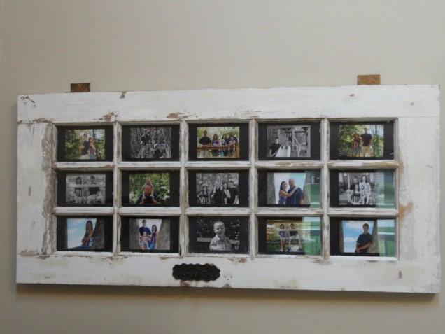 фото рамка от стара врата