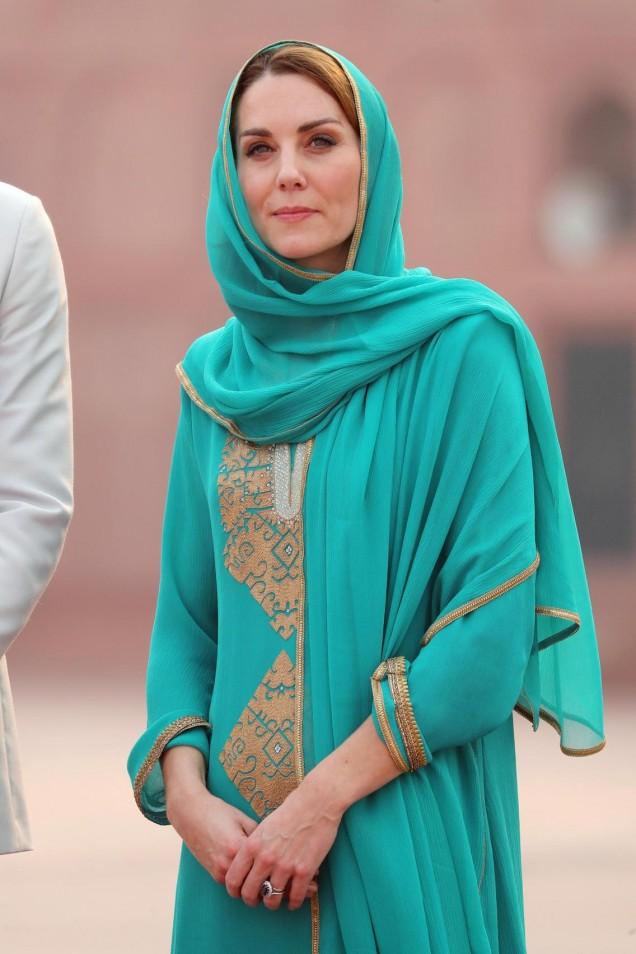Кейт като арабска принцеса