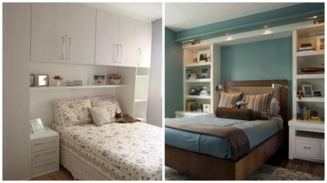вградени шкафове в спалнята