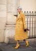 карирано палто в жълто