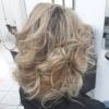 етажирана къса коса