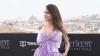 Анджелина Джоли в лилаво