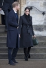 Меган с палто на Стела Макартни