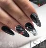22 диаманта за бляскави дами - възхитителни и нежни маникюри с камъчета и кристали (Снимки):