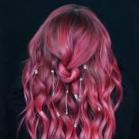 Кристали в косата