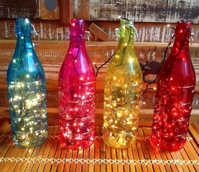 шишета с лампички