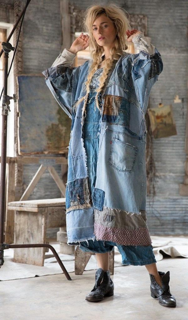 палто от старите дънки