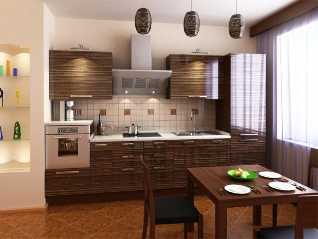 интериор на кухнята