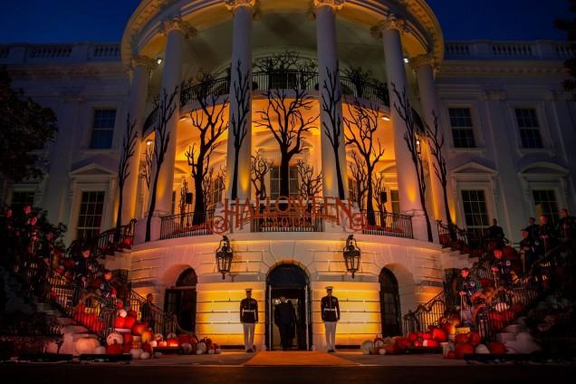 Хелоуин в Белия дом