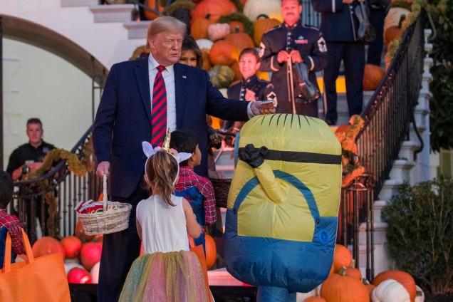 Доналд Тръмп на Хелоуин