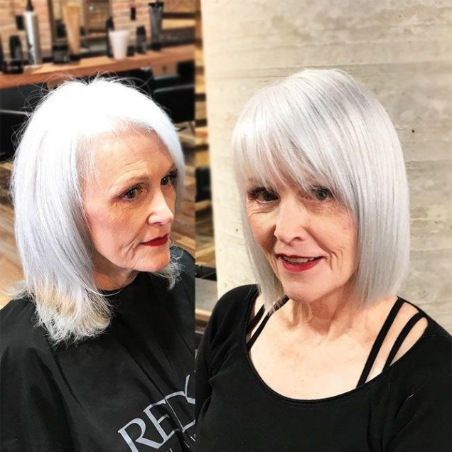 Прически 2020 за жени над 50