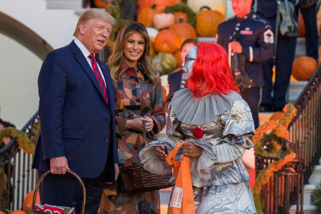 маскарад за Хелоуин в Белия дом
