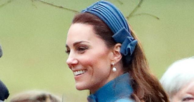 Кейт Мидълтън синя лента