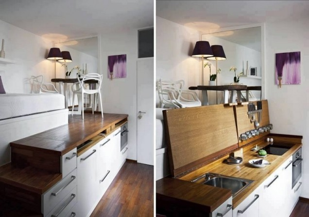 идеи за вградена кухня