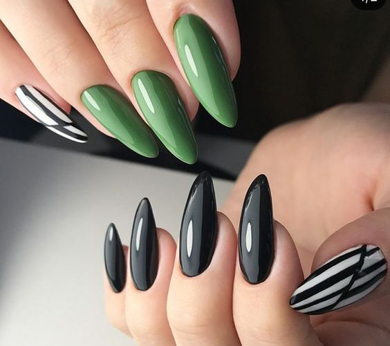 красиви маникюри за къси нокти