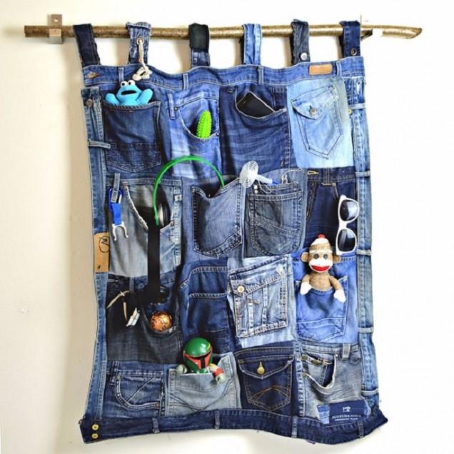 джобове за вещи от старите дънки
