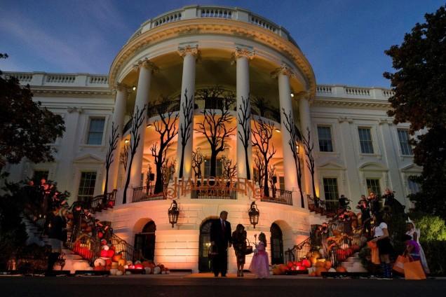 Белия дом за Хелоуин
