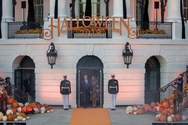 украсата на Белия дом за Хелоуин