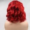 ярко червена коса