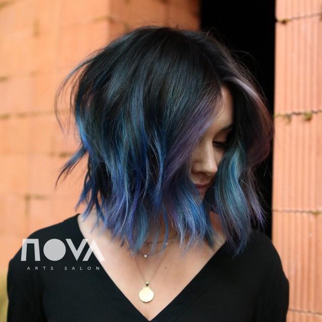 Прически за къса коса 2020