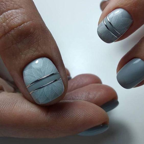 маникюр къси нокти