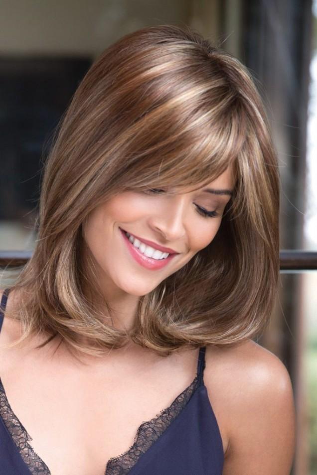 идея за прическа за средна дължина на косата