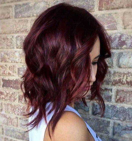 махагон цвят за коса 2020