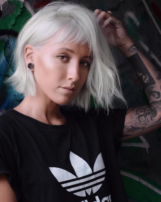 Къси прически за руса коса 2020