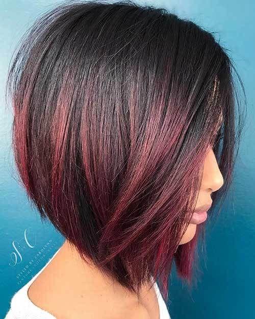 преливащи цветове в косата