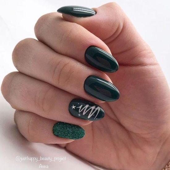 декорация на нокти в домашни условия маникюр 2020