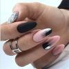 бадемови нокти мат