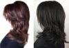 прическа италианка тъмна коса