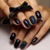 къси нокти черни