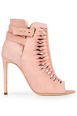 Обувки с висок ток в розово