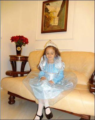 Дъщеричката на Мария у дома
