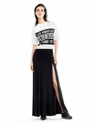 Дълга пола с готина тениска