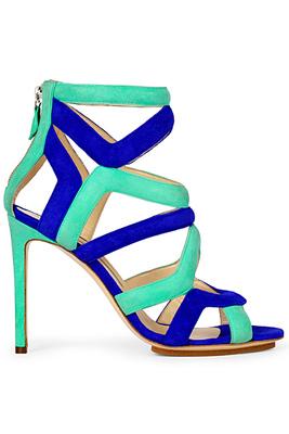 Красиви цветни сандали