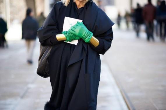 Зелени ръкавици