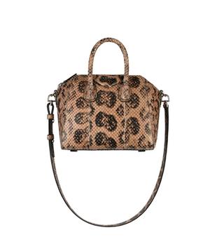 Чанта от змийска кожа