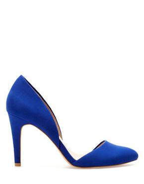 Сини обувки 2013