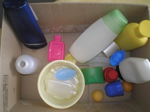 рециклиране на пластмасови шишета