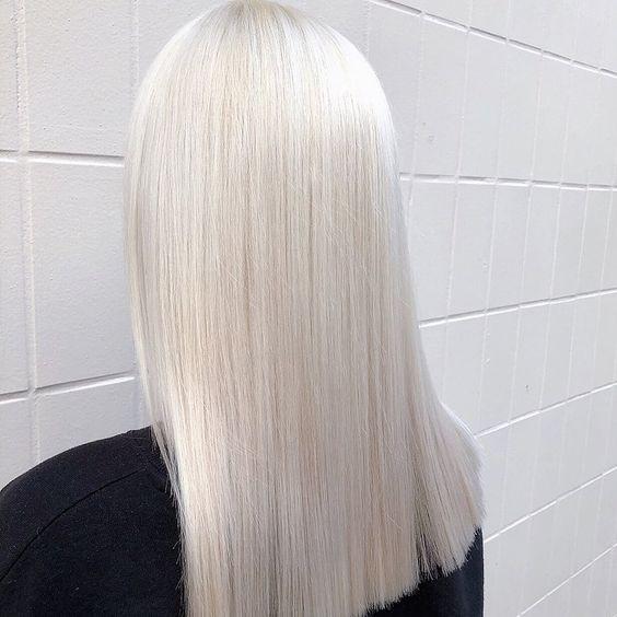 пълно изсветляване на косата