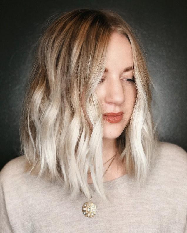 каре чуплива коса