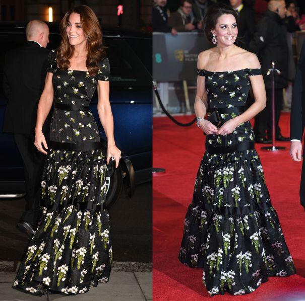 Кейт Мидълтън дълга рокля
